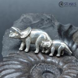 Dinosaur - 925-Silver Brooches